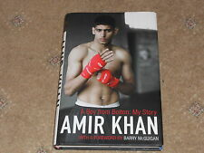 Amir Khan Hand Signed Book 'A Boy From Bolton:My Story.