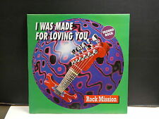 "MAXI 12"" ROCK MISSION I was made for loving you ( KISS ) MCT 32026 TECHNO ROCK"