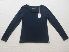 edc Esprit Basic Langarm Shirt Gr.M 38 Dunkelblau Neu