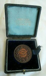 TOOGOOD & SONS -THE ROYAL SEEDMEN FOR HALF A CENTURY MEDALLION IN CASE EST 1815