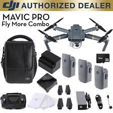 DJI Mavic Pro Fly More Combo - 4K Stabilized Camera, Active Track Avoidance, GPS