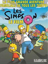 Affiche 120x160cm LES SIMPSON - LE FILM (THE SIMPSONS MOVIE) 2007 NEUVE
