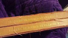 Eglises de Bourgs et Villages by Anatole de Baudot 2 Vols 1877 1st Edition
