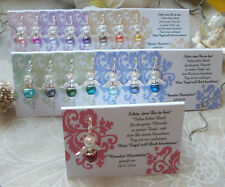 20 Angel Table Cards Tendril Guest Gift Wedding Christening Communion Selection