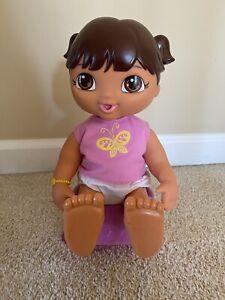Dora The Explorer Potty Time Doll with Potty EUC