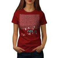 Wellcoda Pi Funny Mathematician Womens T-shirt,  Casual Design Printed Tee