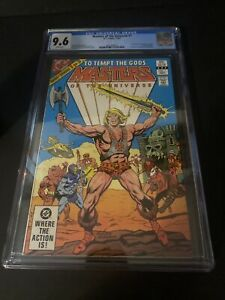 Masters of the Universe #1 - CGC 9.6 White Pages 1982 He-Man MOTU DC