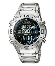 Orologio Casio Fishing Gear termometro fasi lunari 100M AMW703D UK Venditore