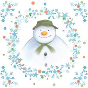20 x Christmas Festive Party Raymond Briggs The Snowman Napkins 3 Ply Quality