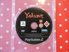 Yakuza PlayStation 2 ps2 sólo disc usk18