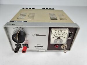 Vintage WE Weir Microreg Variable Power Supply Type 300 Volts & Amps