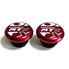gobike88 TOKEN TK267 Handle Bar End Caps, 10g/Pair, Red, U04