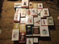 Hallmark Lot Of 26 Christmas 🎄 ORNAMENT