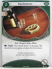 Arkham Horror - 1x #110 Knuckleduster - Echoes of the Past