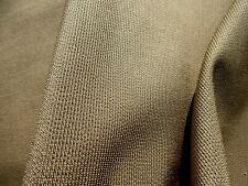 Mid Century Modern 60's 70's VINTAGE Fabric Designtex Rough & Ready Taupe Gold