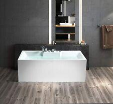 freistehende badewanne Acryl Rechteckformig 170 mit armatur Schwänlein® Exklusiv