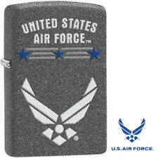 Zippo 2016 Catalog United States Air Force Rugged Iron Stone Lighter 29121