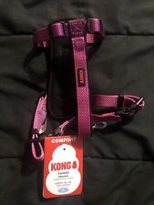Kong Padded Harness Maroon 16�-22� Small