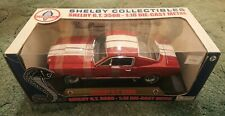 1/18 1966 Shelby GT350 Red/White Diecast Model - Shelby Collectables Model MINT