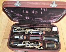 Buffet Crampon E13 clarinet, wood body, silver plated keys