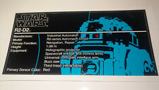 Star Wars Sticker for Lego® 10225 R2D2 UCS precut Replacement