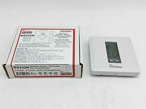 Robertshaw RS332N Premier Digital Non-Programmable Multistage Thermostat -NR3018