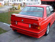 BMW 3 SERIES M3 E30 REAR BOOT SPOILER NEW