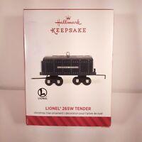 Hallmark - Lionel 265W Tender -  2014 Keepsake Ornament NIB MIB