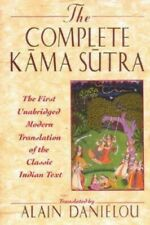 THE COMPLETE KAMA SUTRA by Alain Danielou - 1994 Hard Cover Book  DJ