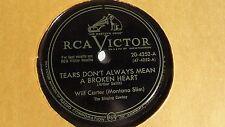 Wilf Carter (Montana Slim) - 78rpm single 10-inch - RCA Victor #20-4252