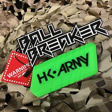 New Hk Army Ball Breaker 2.0 Barrel Cover Sock Plug Condom - Neon Green/Black