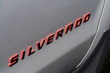 84306694 2014-2017 Chevrolet Silverado OEM Redline Door Tailgate Emblem NEW