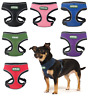 Heritage Soft Reflective Mesh Dog Harness Breathable Fabric Puppy Pet Adjustable