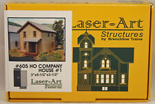 Laser-Kit Structures by Branchline - Company House #1- Kit #605 - NIB