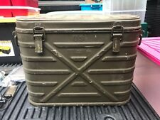 U S Military Knapp Monarch Co Vintage Cooler Container 1954