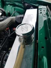Datsun Z ZX 240Z 260Z 280Z L24 L28 Polished Billet Z Logo Radiator Cap & Cover