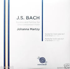 SEALED 180g - MARTZY / Bach Sonata & Partita No.1 / UK COUP d'ARCHET, COUP 017