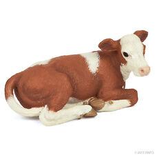 NEW PAPO 51143 Simmental Calf Lying - RETIRED