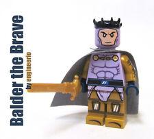 LEGO Custom -- Balder the Brave -- Marvel Super heroes thor asgard mini figure