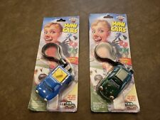 Awesome 2000 Chevron Cars Mini Pete & Freddy clip ons NIB New in Package