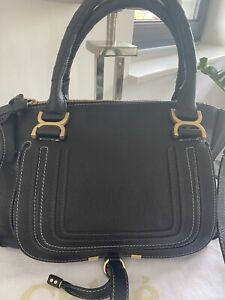 Chloé Marcie Medium Bag schwarz sehr gepflegt mit Rechnung