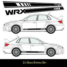 Black mudflaps Para Subaru Impreza New Age WRX /& Sti 2001-2007 calcomanías de estilo WRX