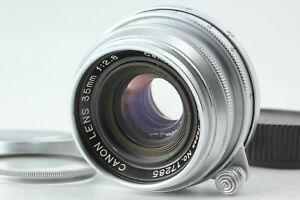 READ! [Near MINT+++] Canon 35mm f/2.8 LTM L39 Leica Screw Mount Lens from Japan