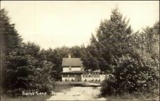 Poland Springs ME Rolly's Camp c1940s Real Photo Postcard