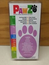 PROTEX PAWZ DISPOSABLE 12 LARGE DOG BOOTS - PURPLE WATERPROOF RUBBER -- MADE USA