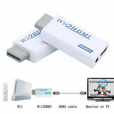 Wii TO HDMI Adapter Converter HD 1080P Audio Video Output Wii2HDMI Connector