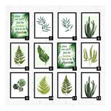 Paper Botanical Art Prints