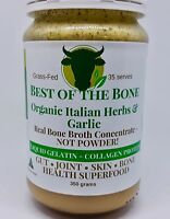 Best of the Bone Organic Italian Herbs & Garlic - grass-fed beef bone broth