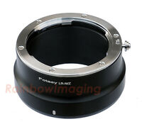 "Leica R LR Lens to Nikon Z Mount Z50 Z6 Z7 Mirrorless Camera Adapter ""US Seller"""