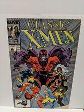 Classic X-Men #19 March 1988 Marvel Comics